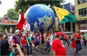 Globe Protest