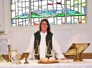 Johanne avec communion