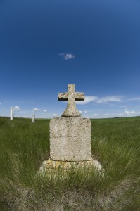 Old Rural Cemetary, Saskatchewan