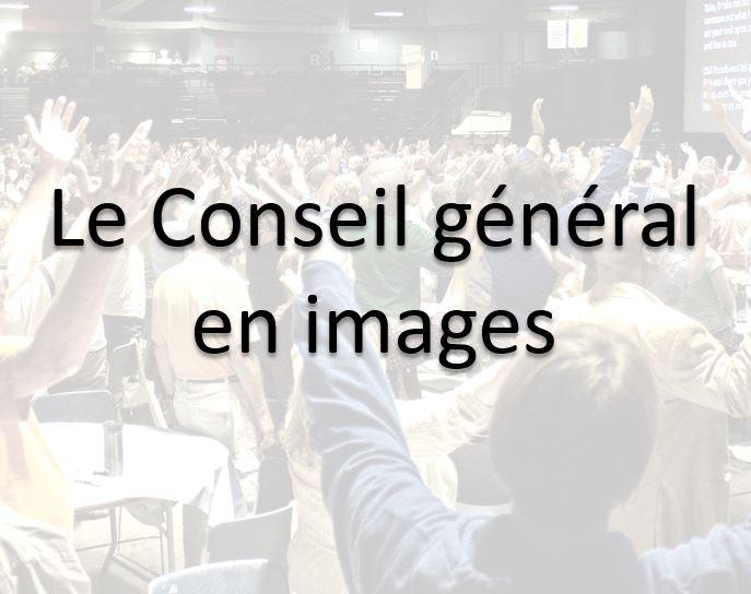 Le conseil général en images