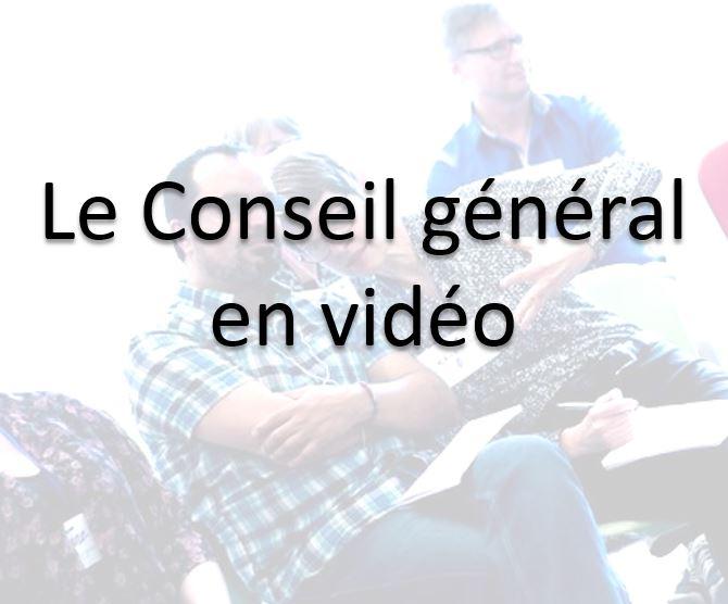 Le Conseil général en vidéo