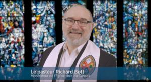 Le modérateur Richard Bott