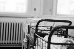 Nouveau-né dans un hôpital